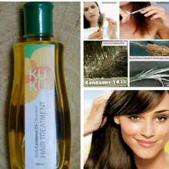 kukui minyak kemiri penumbuh dan penghitam rambut Gambar Minyak Kemiri Yang Asli